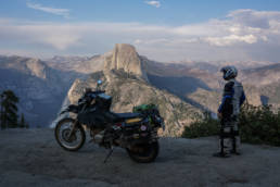 DR650 at Yosemite