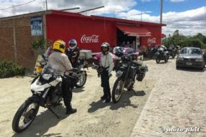 GS riders taking a break at Cerro del Cubilete