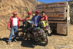 Mining roads in Mexico