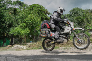 ATG Softbags on DR650