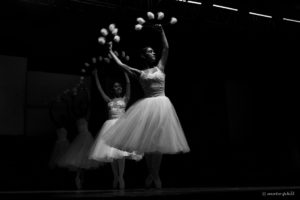 Ballet dancers in Chetumal Mexico