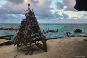 X-Mas tree on Caye Caulker