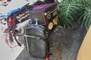 Mule Pack Panniers on DR650