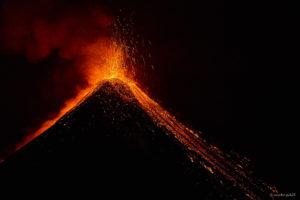 Volcan Fuego Eruption 2017-02-24/25