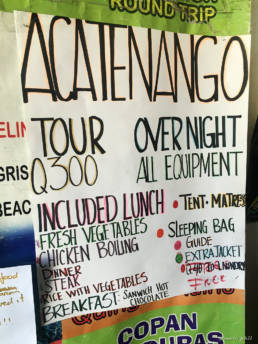 Acatenango Hiking Tours