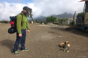 moto.phil before the Acatenango hike with dog and cat couple