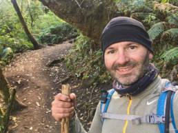 Acatenango trail in the jungle