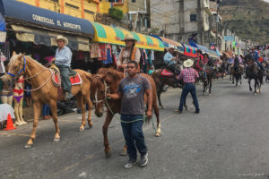 Horse Parade in La Mesilla