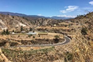 Beautiful twisty road in Guatemala