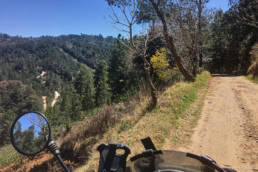 Dirtroad through the backcountry of Guatemala