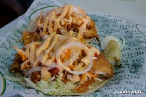"""""""La Paz"""" fish and shrimp Tacos"""
