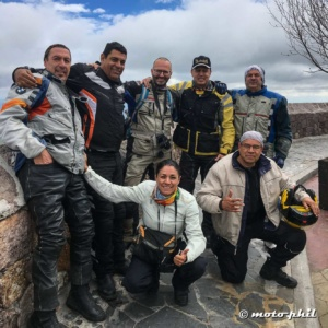 "moto.phil with the mexican riders ""Arrieros"""