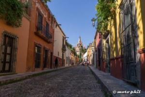 Cobblestone Streets of San Miguel de Allende