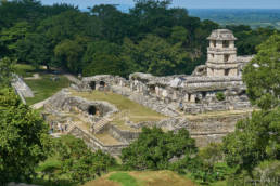 Mayan pyramids of Palenque