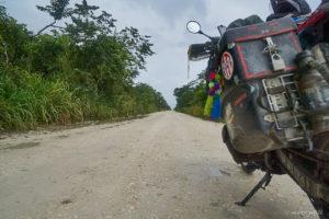 Dirt Road to Lamanai