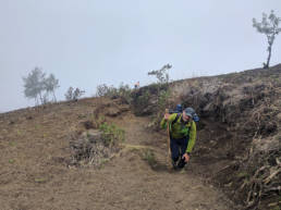 Walking the Acatenango trail